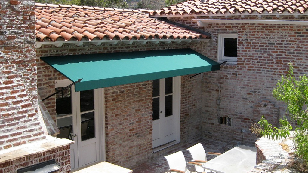 Green spears awning