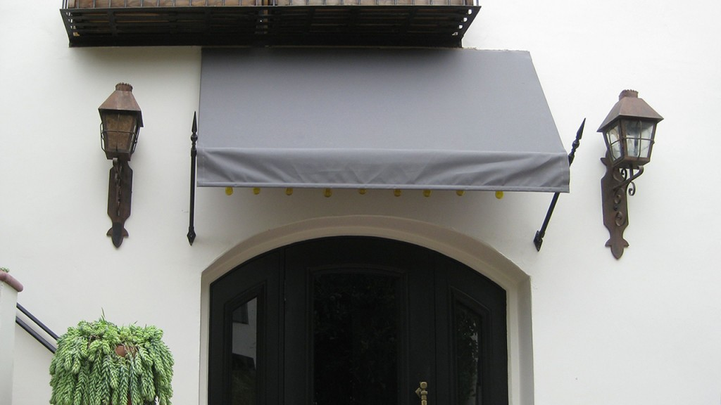 Gray Spear Awning