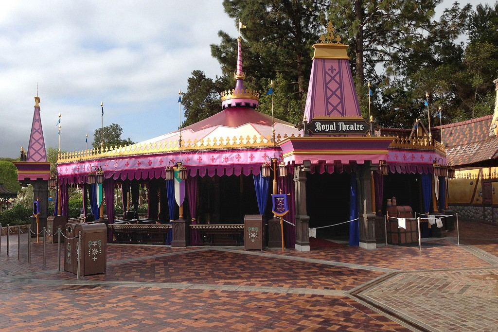The commercial awning we created for the Royal Theater at Disneyland.