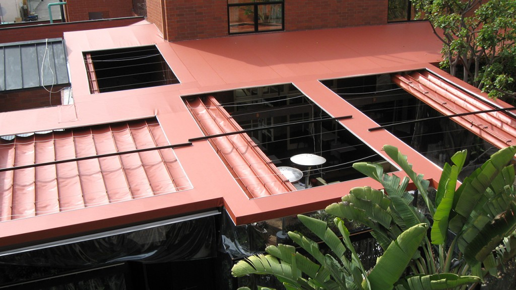 Sliding on Wire Awnings