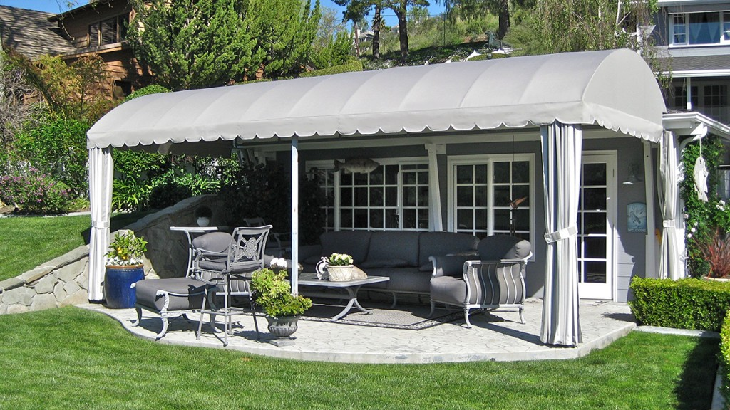 Custom patio canopy