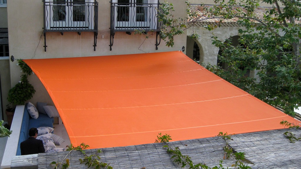 Orange Shade Structure