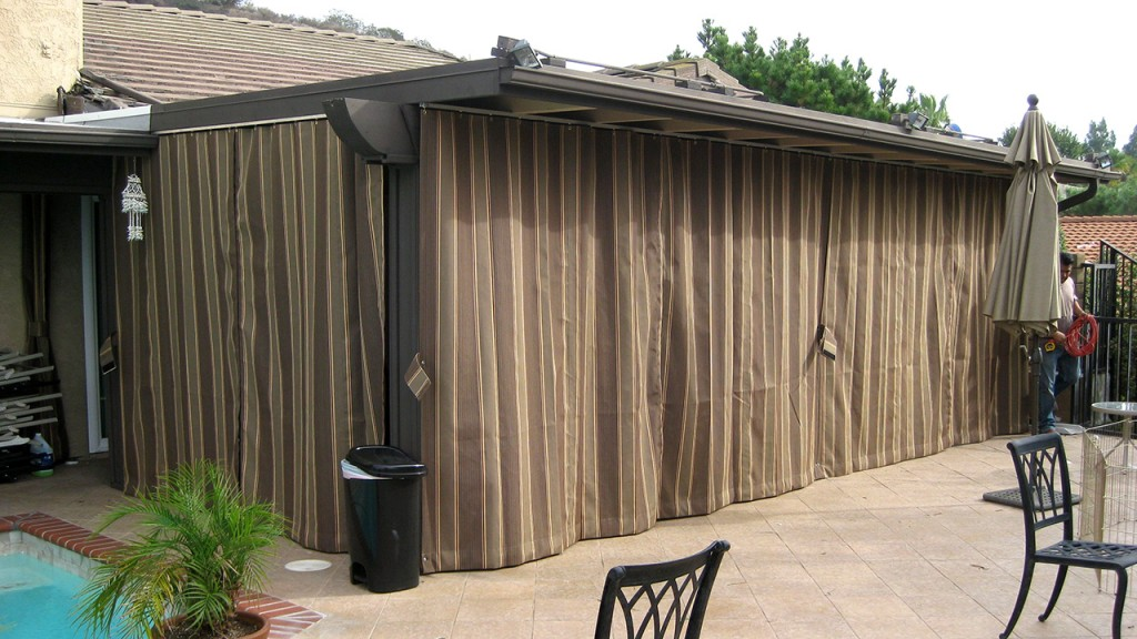 Sliding curtains outdoor