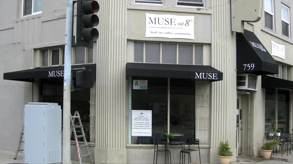 Commercial awning for Muse