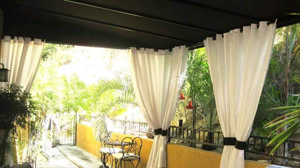 Custom patio canopies